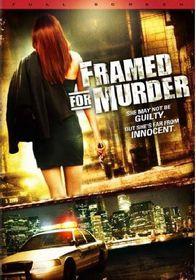Framed for Murder - (Region 1 Import DVD)