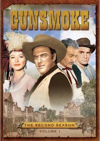 Gunsmoke:Second Season Vol 1 - (Region 1 Import DVD)