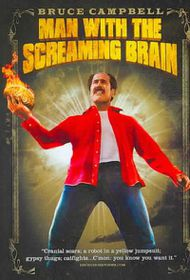 Man with Screaming Brain - (Region 1 Import DVD)