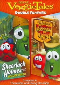Veggie Tales: Sheerluck Holmes and the Golden Ruler/The Ballad of Little Joe - (Region 1 Import DVD)