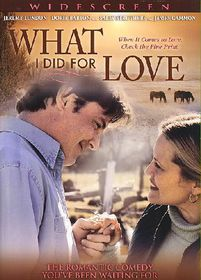 What I Did for Love - (Region 1 Import DVD)