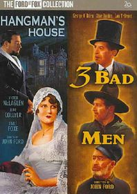 Three Bad Men/Hangman's House - (Region 1 Import DVD)
