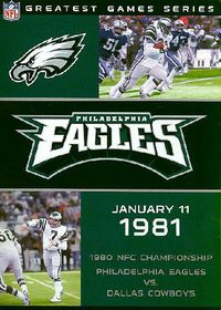 NFL Greatest Games Philadelphia Eagles 1980 Championship Game - (Region 1 Import DVD)