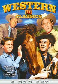 Western TV Classics: Sky King/Wagon Train/Fury/Adventures of Kit Carson - (Region 1 Import DVD)