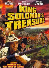 King Solomon's Treasure - (Region 1 Import DVD)