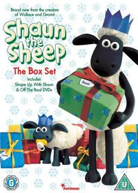 Shaun The Sheep Christmas Gift Set - (Import DVD)
