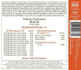 Bach W.f: Keyboard Wrks - Keyboard Works (CD)