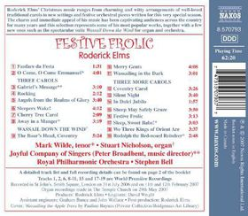 Filsell, Simon / Fletcher, Andrew / Nicholson, Stuart / Owen, Martin - Carols Arranged By Roderick Elms (CD)