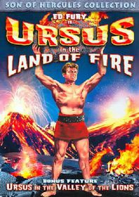Ursus in The Land of Fire/Ursus in The Valley of Lions - (Region 1 Import DVD)