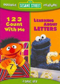 Sesame Street: 123 Count With Me/Learning About Letters - (Region 1 Import DVD)