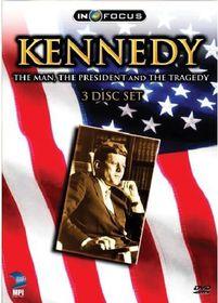 Kennedy:Man President Tragedy - (Region 1 Import DVD)