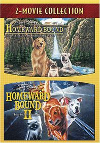Homeward Bound: The Incredible Journey/Homeward Bound II: Lost In San Francisco - (Region 1 Import DVD)