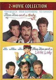 Three Men and a Baby/Three Men and a Little Lady - (Region 1 Import DVD)