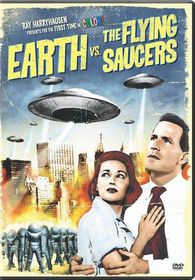 Earth Vs the Flying Saucers - (Region 1 Import DVD)