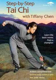Step-by-Step Tai Chi with Tiffany Chen - (Region 1 Import DVD)