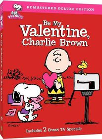 Be My Valentine Charlie Brown Deluxe - (Region 1 Import DVD)