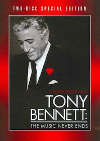 Clint Eastwood Presents Tony Bennett: The Music Never Ends - (Region 1 Import DVD)