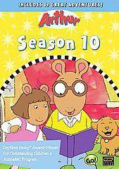Arthur - Season 10 - (Region 1 Import DVD)