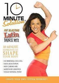 10 Minute Solution:Latin Dance Mix - (Region 1 Import DVD)