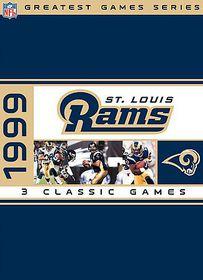 NFL Greatest Games Series: 1999 St. Louis Rams Playoffs - (Region 1 Import DVD)