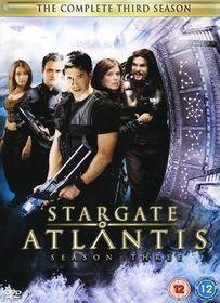 Stargate Atlantis- Season 3 - (Import DVD)