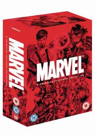 Marvel 4 Animated Features Collection (DVD)