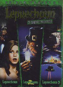 Leprechaun Triple Feature - (Region 1 Import DVD)