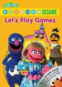 Play with Me Sesame:Let's Play Games - (Region 1 Import DVD)