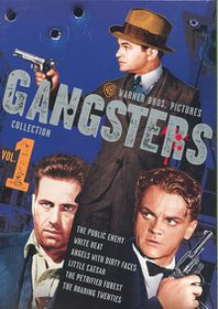 Warner Gangsters Collection Vol 1 - (Region 1 Import DVD)