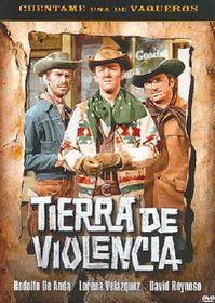 Tierra De Violencia - (Region 1 Import DVD)