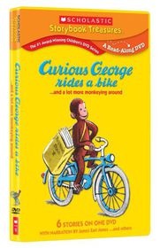 Curious George Rides a Bike - (Region 1 Import DVD)