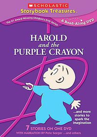 Harold and the Purple Crayon - (Region 1 Import DVD)