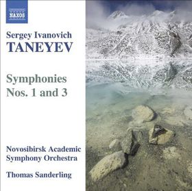 Taneyev:Symphonies No 1 & 3 - (Import CD)