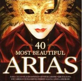 40 Most Beautiful Arias - (Import CD)