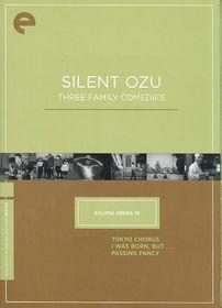 Silent Ozu:Three Family Comedies - (Region 1 Import DVD)