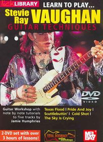 Learn to Play Stevie Ray Vaughan Gu V - (Region 1 Import DVD)