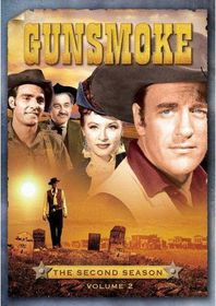 Gunsmoke:Second Season Vol 2 - (Region 1 Import DVD)