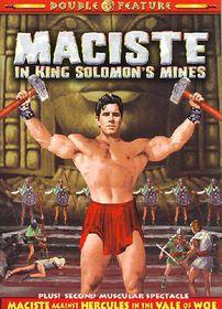 Maciste Double Feature:Maciste in Kin - (Region 1 Import DVD)