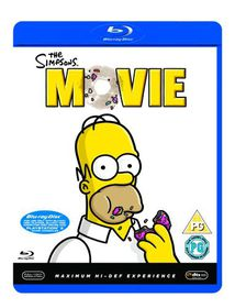Simpsons Movie - (Import Blu-ray Disc)