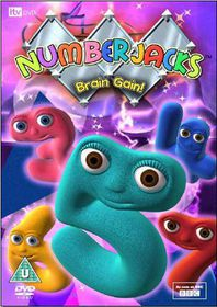 Numberjacks - Brain Gain! - (Import DVD)