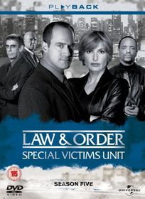 Law & Order: Special Victims Unit - Season 5 - (Import DVD)