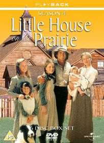 Little House On The Prairie Series 4 - (Import DVD)