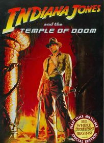 Indiana Jones and Temple of Doom Se - (Region 1 Import DVD)