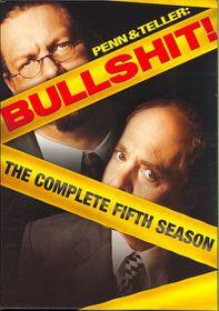 Penn & Teller Bullshit:Complete Fifth - (Region 1 Import DVD)