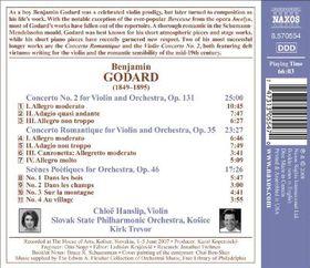 Slovak State Philharmonic Orchestra, Kosice - Violin Concerto No.2 (CD)