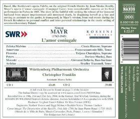 Mayr: L'amor Coniugale - Mayr: L'amor Coniugale (CD)