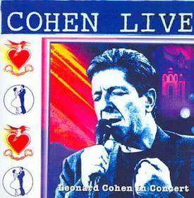 Cohen Live:Leonard Cohen Live in Conc - (Import CD)
