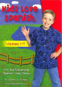 Kids Love Spanish - (Region 1 Import DVD)