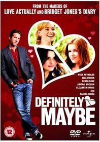 Definitely Maybe - (Import DVD)