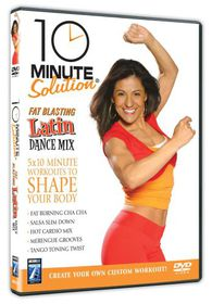 10 Minute Solution: Fat Blasting Latin Dance Mix - (Import DVD)